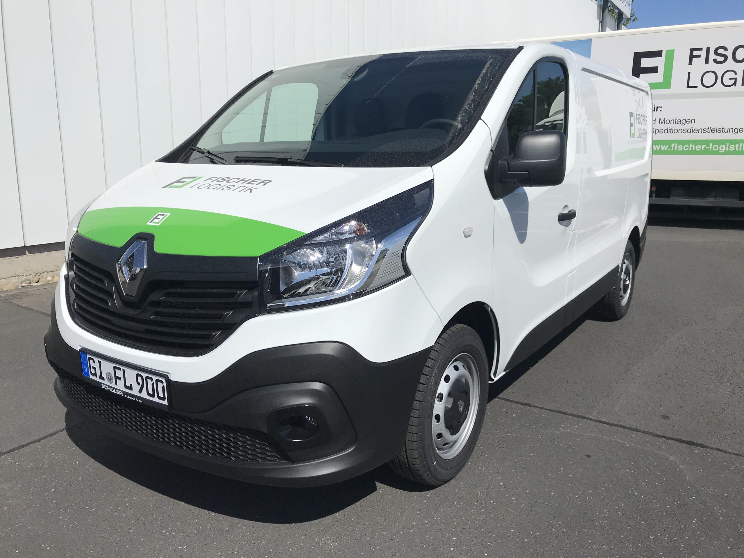 Vermietung Renault Trafic Fischer Logistik