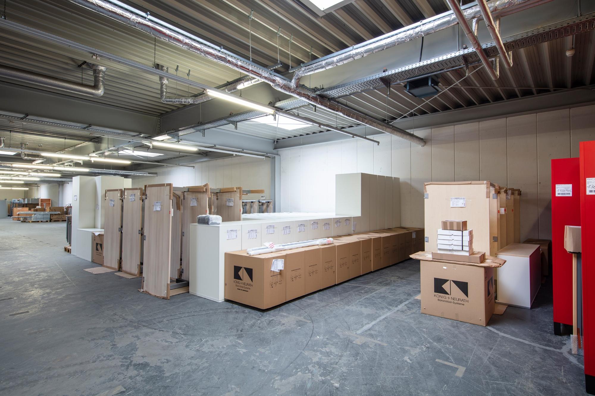 Möbel-Lager von Fischer Logistik