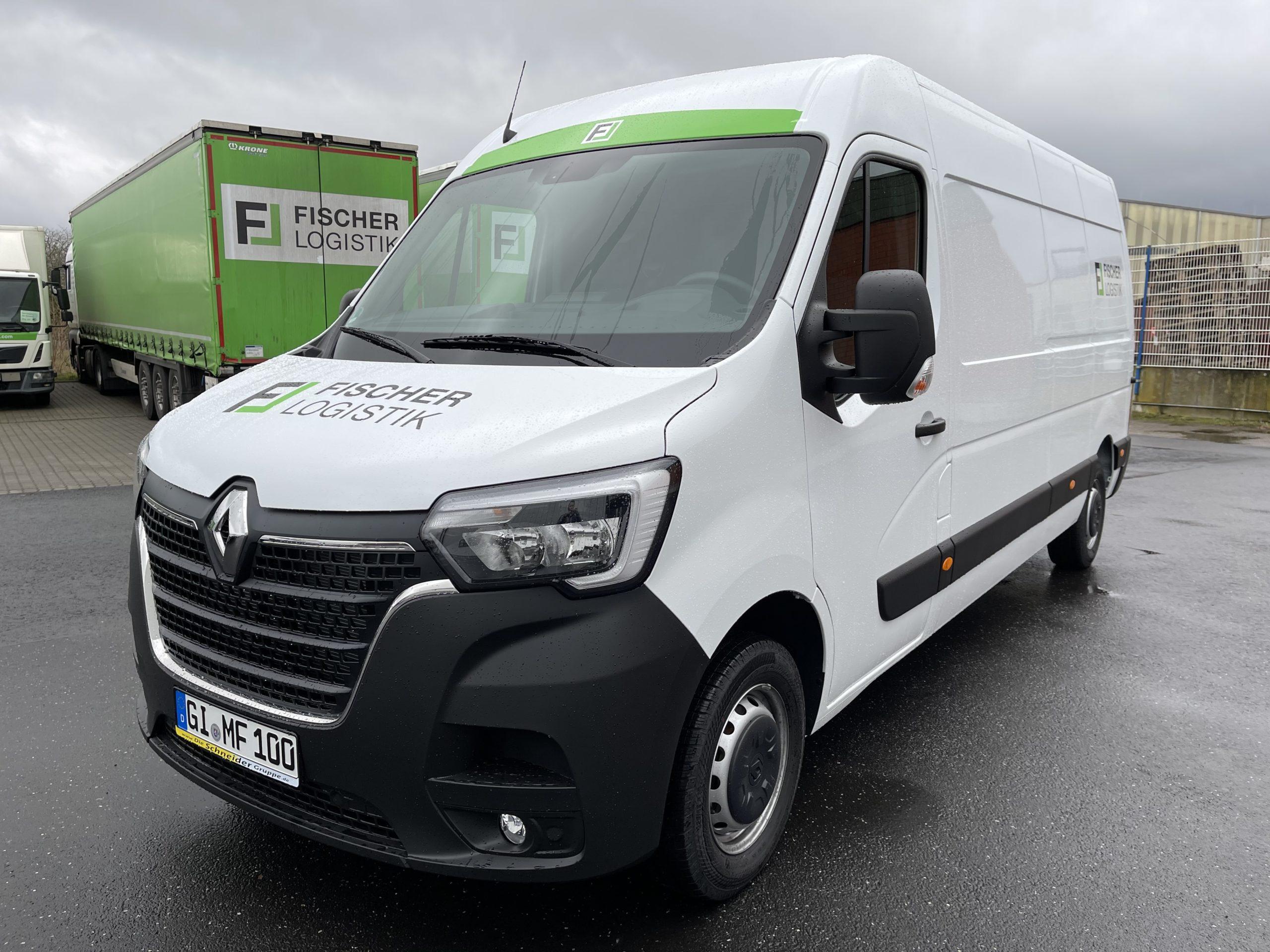 Vermietung Renault Master Fischer Logistik